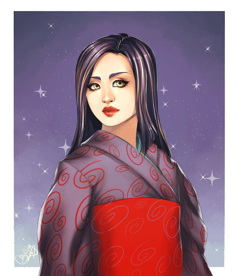 Megumi for HisanaKuchiki by utenaxchan