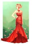 Jaslyn in Red for Feliane