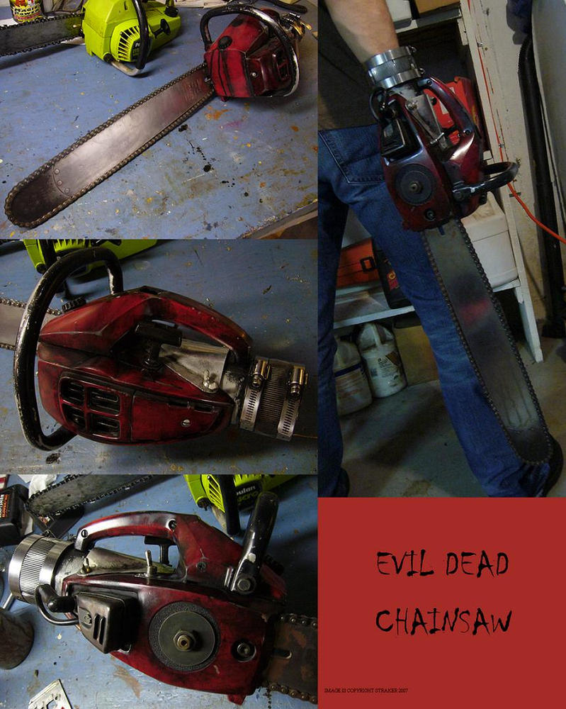 Evil Dead Chainsaw Prop by Police-Box-Traveler on DeviantArt