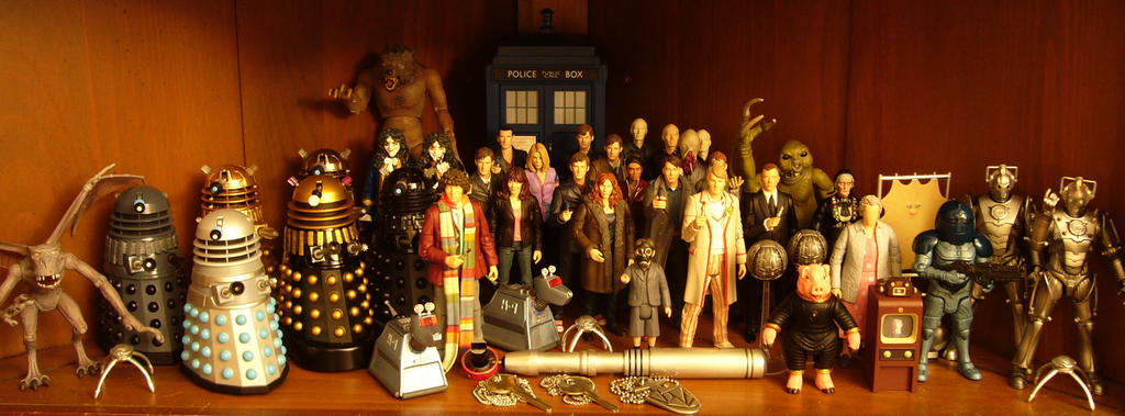 New School Doctor Who Toys by Police-Box-Traveler