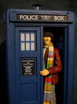 4th Doctor and the 70's Tardis