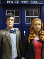 Amy and the Doctor by Police-Box-Traveler