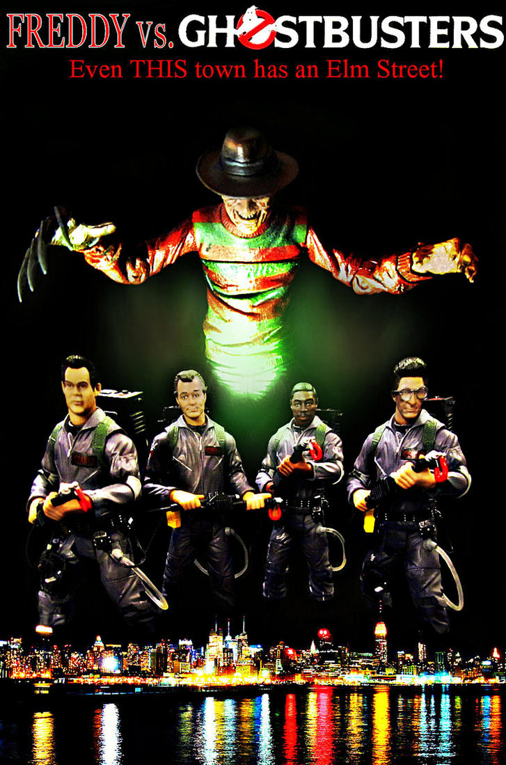 Freddy Vs. Ghostbusters 'EDIT' by Police-Box-Traveler