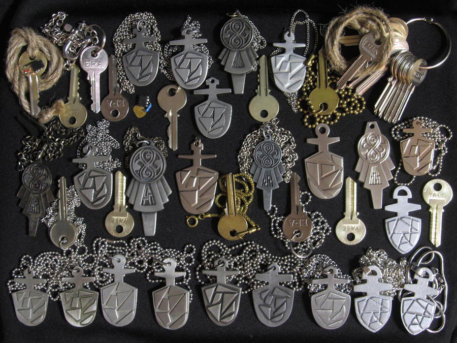 Doctor Who Tardis Keys by Police-Box-Traveler