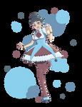 Boba Tea Tapioca Mascot by maidacervania