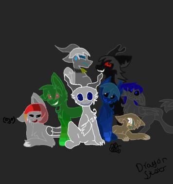 One big group of ocs dwd by Leopardgirl19aj