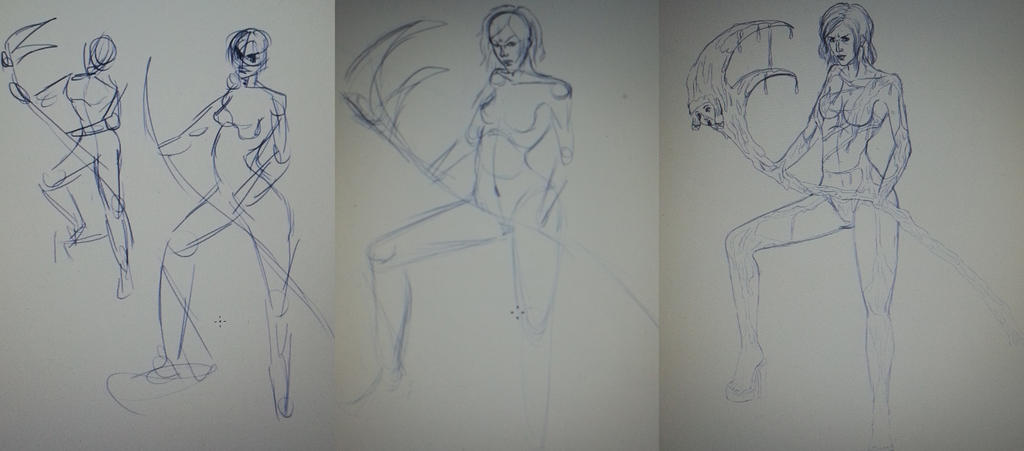New Pitchmary Sketches by Hizaki-psych