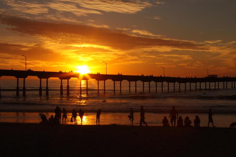 Ocean Beach - San Diego by viewsionone