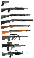 Guns by b1ohazard90uk