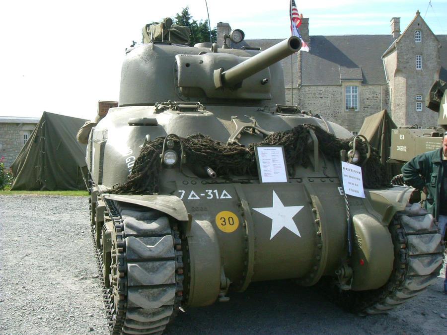 M4 Sherman Tank by b1ohazard90uk