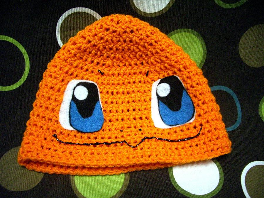 Crochet Charmander Hat Beanie By Codibooher On Deviantart