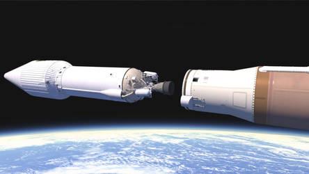 Atlas V GPSIIF-10- booster sep -2 by ArcturusVFX
