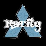Rarity-Mitsubishi Logo by waydeultima