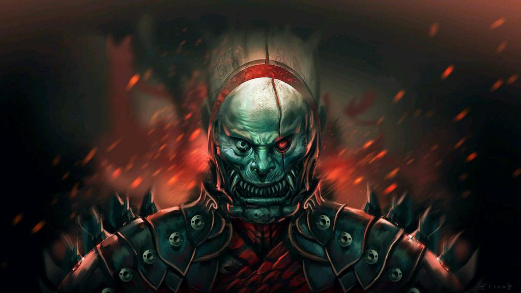 dead samurai by ELIANT