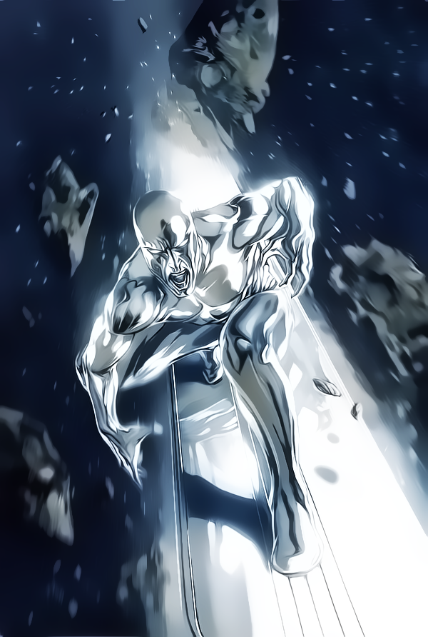 Silver Surfer by Aspersio