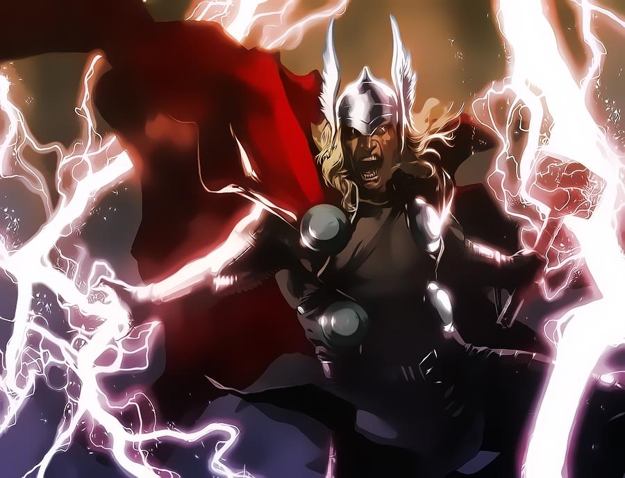Thor by Aspersio