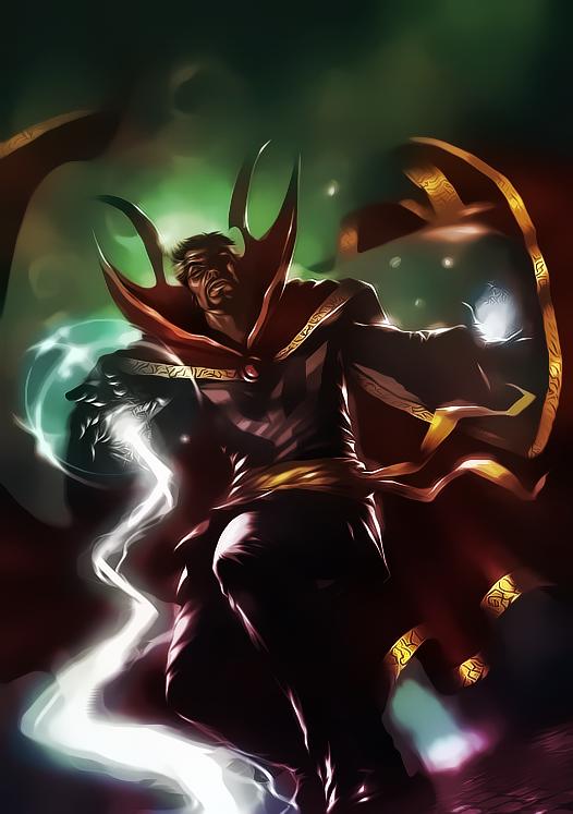Dr. Strange by Aspersio