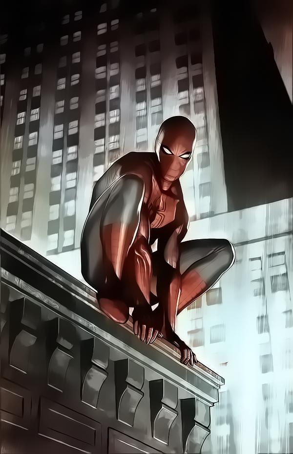 Spiderman by Aspersio