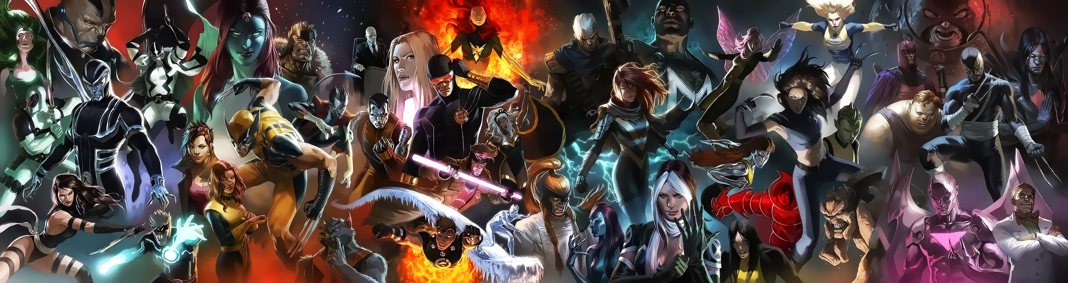 Marvel Universe - X-Men by Aspersio