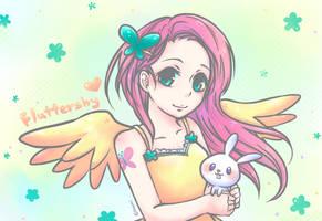 [ My Little Pony ] - Fluttershy by Foxmi