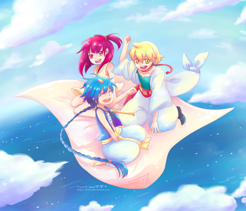 [ MAGI ] Friends by Foxmi