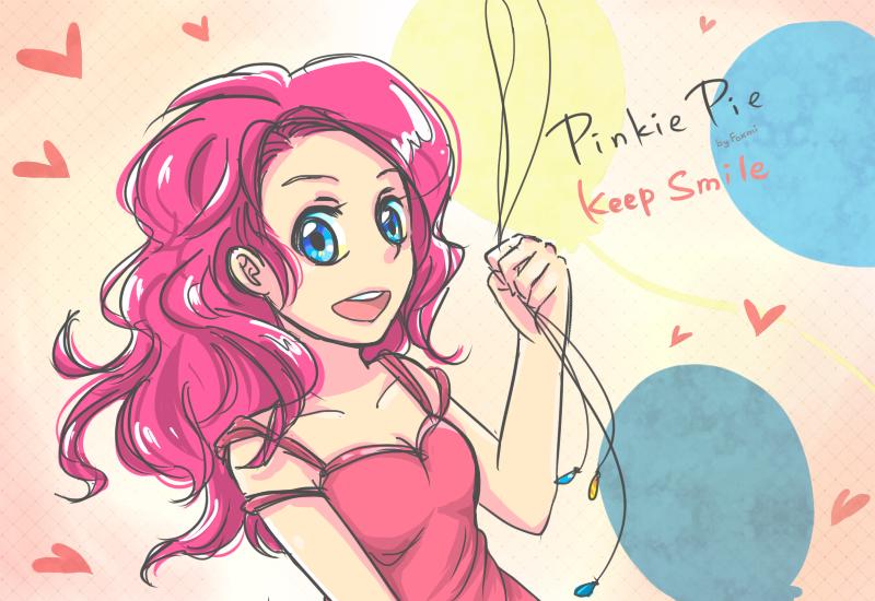 [ My Little Pony ] Pinkie!! by Foxmi