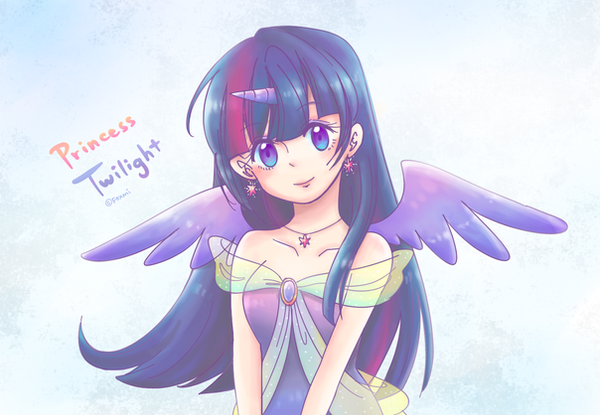 [ MLP ] Princess Twilight Humanization by Foxmi