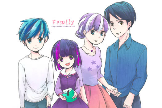 [MLP] Twilight's Family Humanization