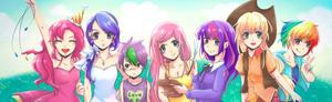 [ MLP ] Friendship is Magic !!