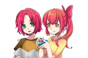 [ MLP ] Apple Cousins by Foxmi