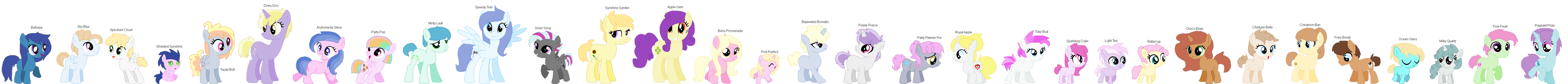 All C Universe foals by Lustmove-The-Hero