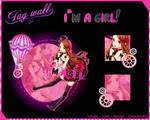 [Tagwall] I'm a girl! by Ichigo-Miranda