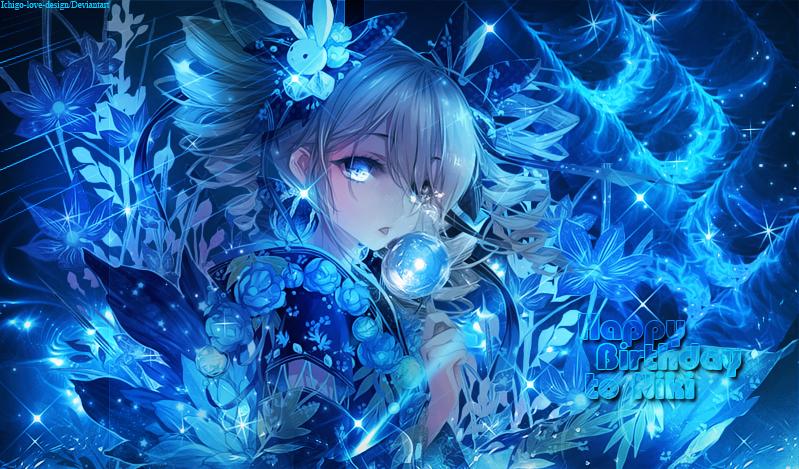 [Art] [8.10.16] Happy Birthday Niki ! by Ichigo-Miranda