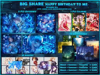 [BIG SHARE] [Nov.4.16] Happy birthday to me! by Ichigo-Miranda