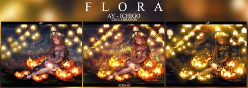 [Collabration] [Feb.1.17] Flora by Ichigo-Miranda
