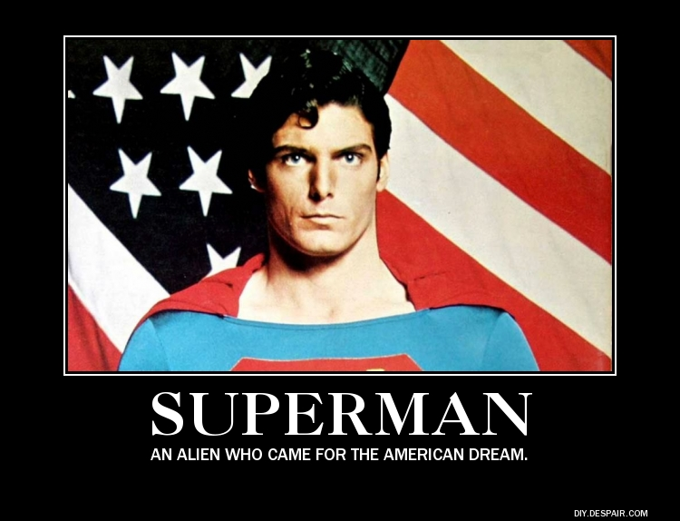 Demotivational Poster- Superman by DarkOliver