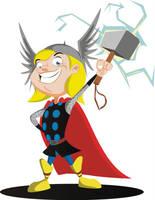 Thor by HERNAN34