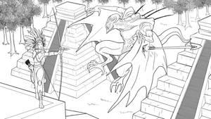200315 flying demon Hernn by HERNAN34