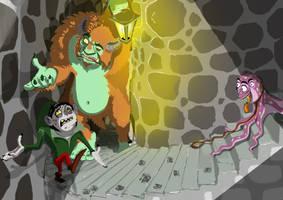 Monstruos Charla by HERNAN34