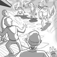 El Mal De Malastar Dibujo 2 by HERNAN34