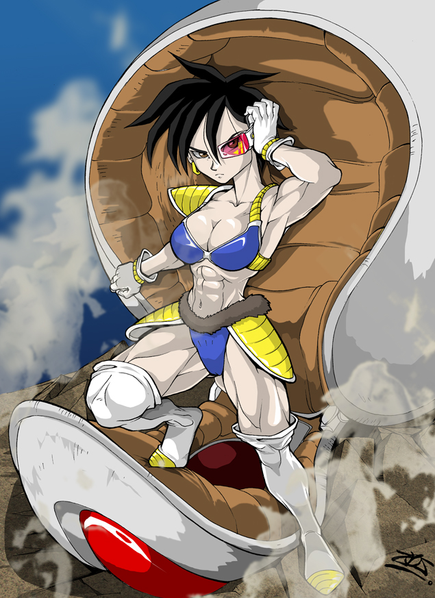 FEMALE SAIYAN by dovianax