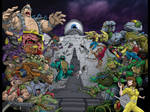 TMNT 30th Anniversary Cover