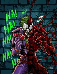 Joker/Carnage by dovianax