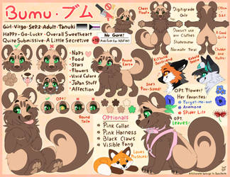 Bumu - Reference Sheet by BumuSenpai