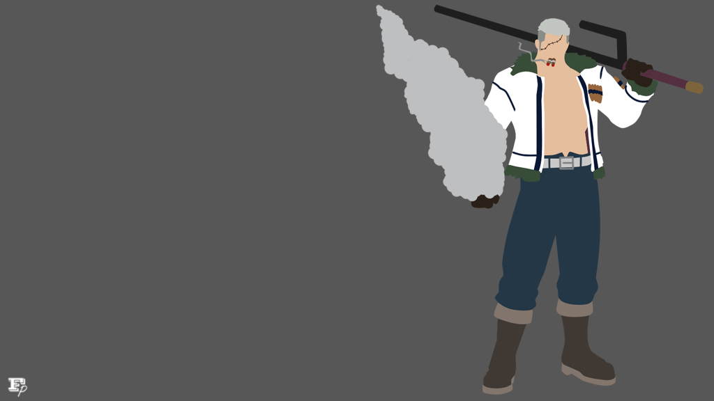 One piece vice admiral smoker minimalist by mrrobotboy on for Minimalist art pieces