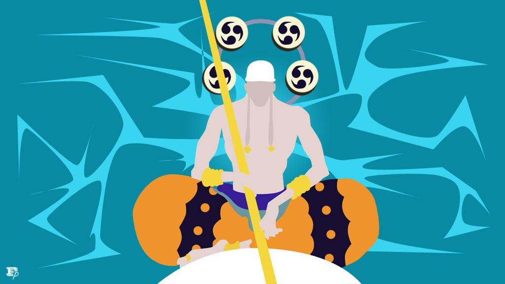 One Piece: Enel minimalist by MrRobotboy on DeviantArt