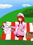 Contest Entry- Alessa and Fairydramon