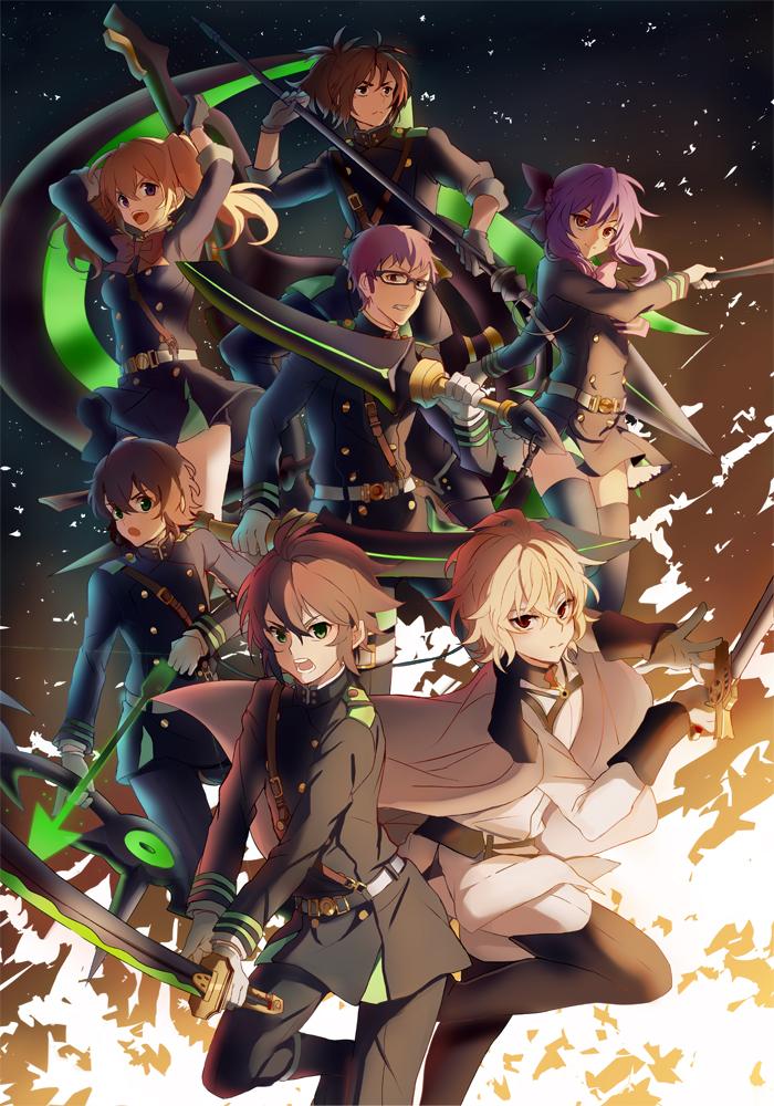 Shinoa's Squad by Kagura-Kurosaki