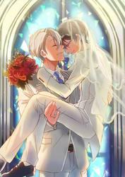 Wedding by Kagura-Kurosaki