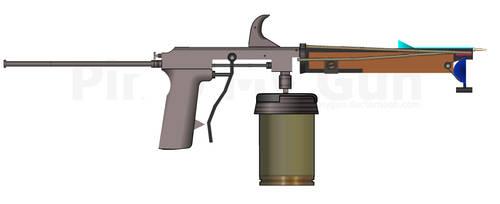 Dart Gun Fallout 3 by trolltrollingtroll